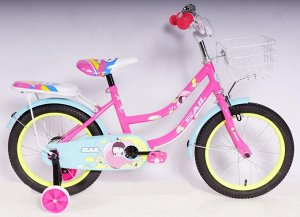 Велосипед 2-х колесный SAIL 16 д. TX-SWGZ (розовый)