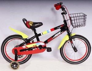 Велосипед 2-х колесный SAIL 16 д. T-TKIH (черно/красный)