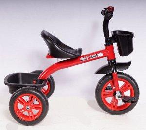 Велосипед 3-х колесный  GOLF TRIKE LTE-812, LTE-812F (1/5) красный (упаковка 5шт.)