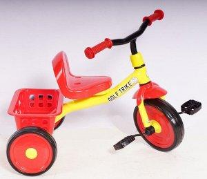 Велосипед 3-х колесный  GOLF TRIKE S721 (1/8) (МИКС- красный, синий)  (упаковка 8шт.)
