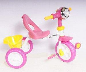 Велосипед 3-х колесный  GOLF TRIKE T-088 (1/4) розовый (упаковка 4шт.)