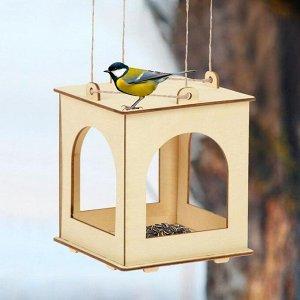 Кормушка для птиц, 13 ? 13 ? 15,5 см, Greengo