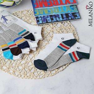Мужские носки укороченные спортивные MilanKo S-628