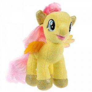 """Мягк. игрушка """"Мульти-пульти"""" Мой маленький пони. Флаттершай,18 см, БЕЗ ЧИПА,пак."""