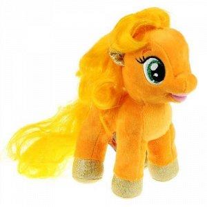 """Мягк. игрушка """"Мульти-пульти"""" Мой маленький пони. Эпплджек, 18 см, . БЕЗ ЧИПА,пак."""
