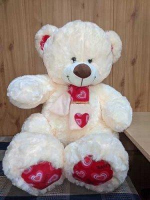 Мягкая игрушка Медведь в шарфе 80 см.