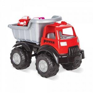 Грузовик Power Truck +2 машинки ,49*26*31 см