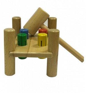 """Игрушка деревянная стучалка """"Перевертыш"""""""