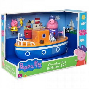 """Набор для ванны """"Свинка Пеппа"""" Корабль дедушки Пеппы,30*14*22 см"""