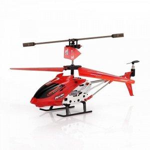 Вертолет р/у Mioshi Tech Х22 ,красный,22 см, USB, пласт. чемоданчик, 28*12*9см