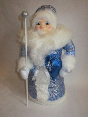 """Дед Мороз под елку """"Зимние узоры"""" 43 см *"""
