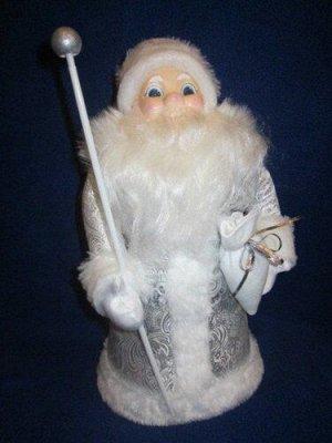 """Дед Мороз под елку """"Снежный"""" 43 см *"""