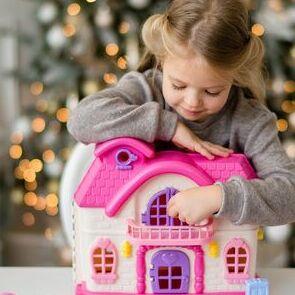 Полесье. Игрушки из лучшего пластика! Беларусь — Кукольный домик и мебель