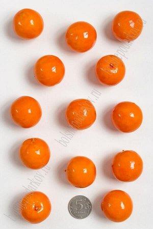 Муляж декоративный апельсин оранжевый