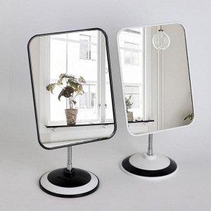 Зеркало на гибкой ножке, зеркальная поверхность 14,5 ? 19,5 см, цвет МИКС