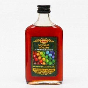 Медовый бальзам «Иммуно-витаминный» алтайский, 250 мл