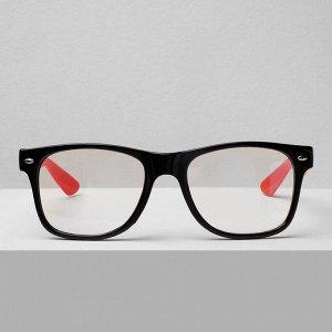 Очки компьютерные 28007, цвет чёрно-красный