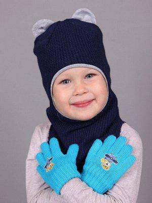Перчатки Перчатки. Размер: 1-2 года. Состав: 100% Акрил. Подклад: Без подклада