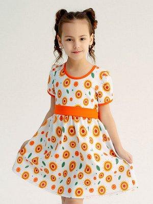 Платье Аленка подсолнухи