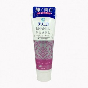 Отбеливающая зубная паста Lion Clinica Enamel Pearl, 130 гр