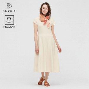 Хлопковое платье,белый