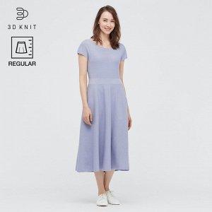 Хлопковое платье,пурпурный