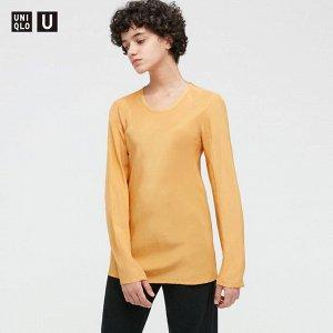 Блузка из вискозы,желтый