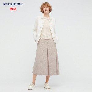 Юбка-брюки, бежевый