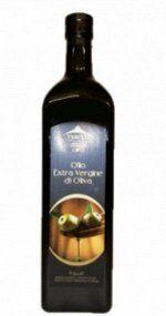 Масло оливковое Olio Extra Virgine di Oliva в стеклянной бутылке нерафинированное Италия