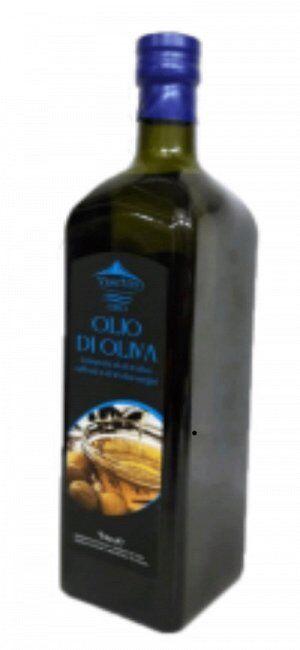 Масло оливковое Olio di oliva в стеклянной бутылке рафинированное с добавлением нерафинированного, Италия