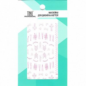 Наклейки для дизайна ногтей TNL