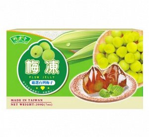 """Желе """"Японская слива"""" 200 гр /Тайвань/"""