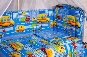 """Бортик в кроватку  """"Машинки"""""""
