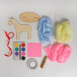 Набор для творчества «Деревянная игрушка своими руками: единорог»