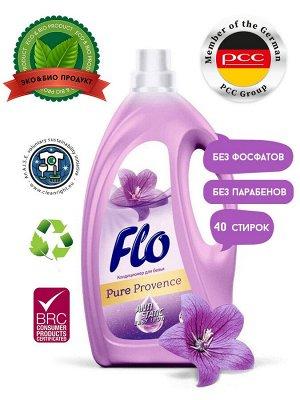 Кондиционер д/белья Flo PURE 2000 мл Provence фиолетовый /Польша/