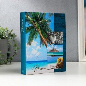 """Фотоальбом """"Пляж"""" на 72 фото, 36 листов, 15х21 см"""