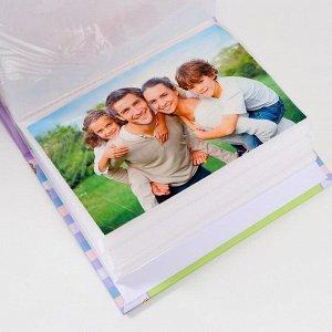 """Фотоальбом """"Детский"""" на 100 фото, 50 листов, 10х15 см"""