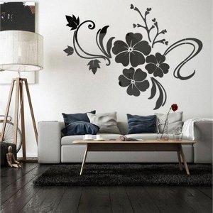 """Панно на стену декоративное """"Цветы"""" 1.65х1.24 м 5439627"""