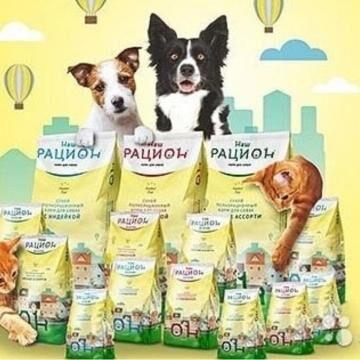 Премиум корма + Наполнители, смываемые в унитаз! — Наш рацион - для собак — Корма