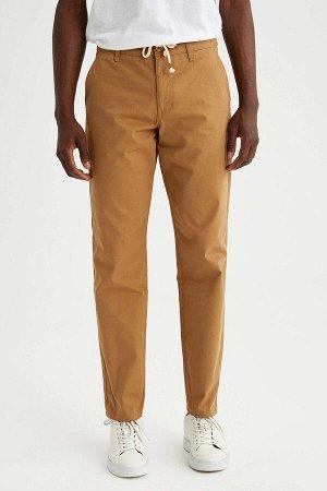 брюки Размеры модели: рост: 1,88 грудь: 95 талия: 70 Надет размер: размер 30 - рост 32  Хлопок 100%
