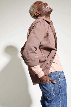 Рубашка Размеры модели: рост: 1,88 грудь: 95 талия: 70  Хлопок 100%