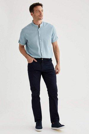 рубашка Размеры модели: рост: 1,89 грудь: 100 талия: 81 бедра: 97 Надет размер: L  Хлопок 100%