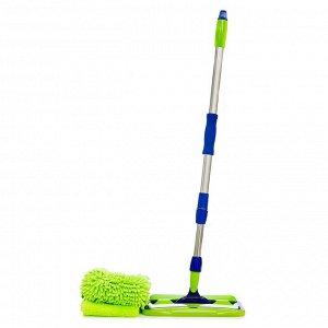 Универсальная швабра с двумя насадками AQUAmatic MOP для уборки дома