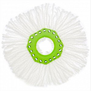 Насадка из микроволокна для швабры AQUAmatic TURBO для влажной уборки детской и спальни