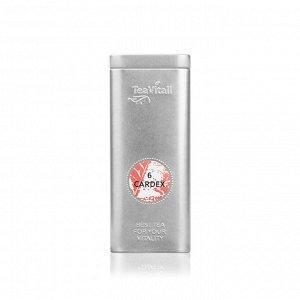 TeaVitall Cardex 6, жестяная банка 75 гр.