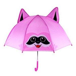 Зонт детский розовый