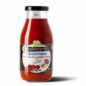 Томатный соус из сицилийских помидоров черри Средиземноморский  Био,без глютена