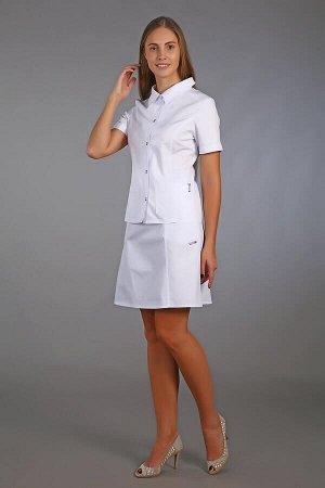 Юбка медицинская жен. М-400 ткань Элит-145