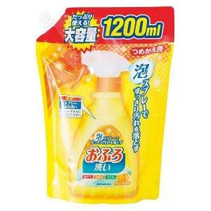 """Чистящая спрей-пена для ванны """"Foam spray Bathing"""" (с антибакт эфф и апельсин маслом) МУ 1200 мл"""