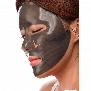 Petitfee Black Pearl & Gold Hydrogel Mask Pack Гидрогелевая маска с золотом и чёрным жемчугом
